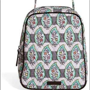 Vera Bradley Paisley Stripes Lunch Bunch Bag